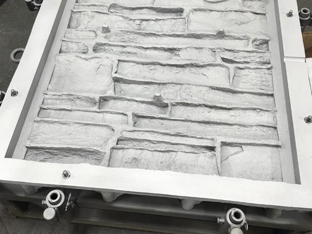 Rotational Mold Finishes stone