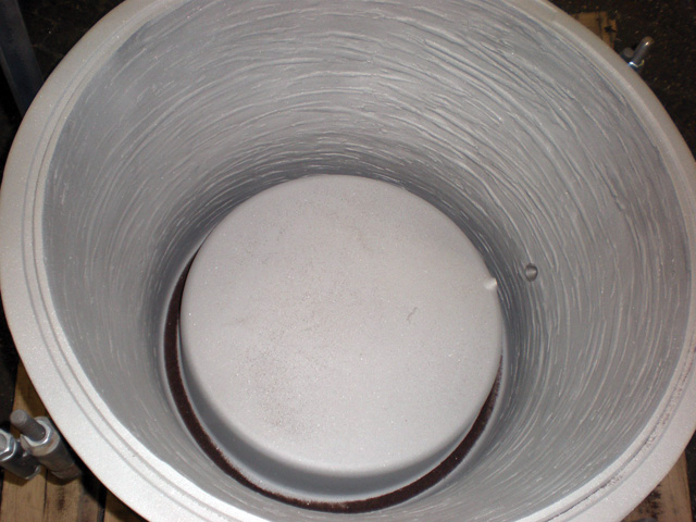 Rotational Mold Finishes terracotta