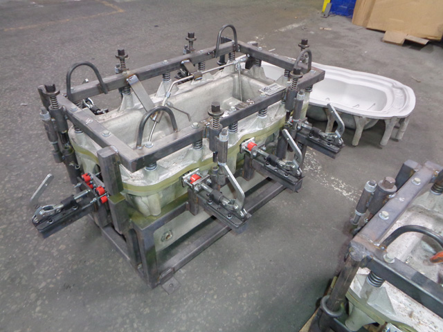 Rotational Mold Frames